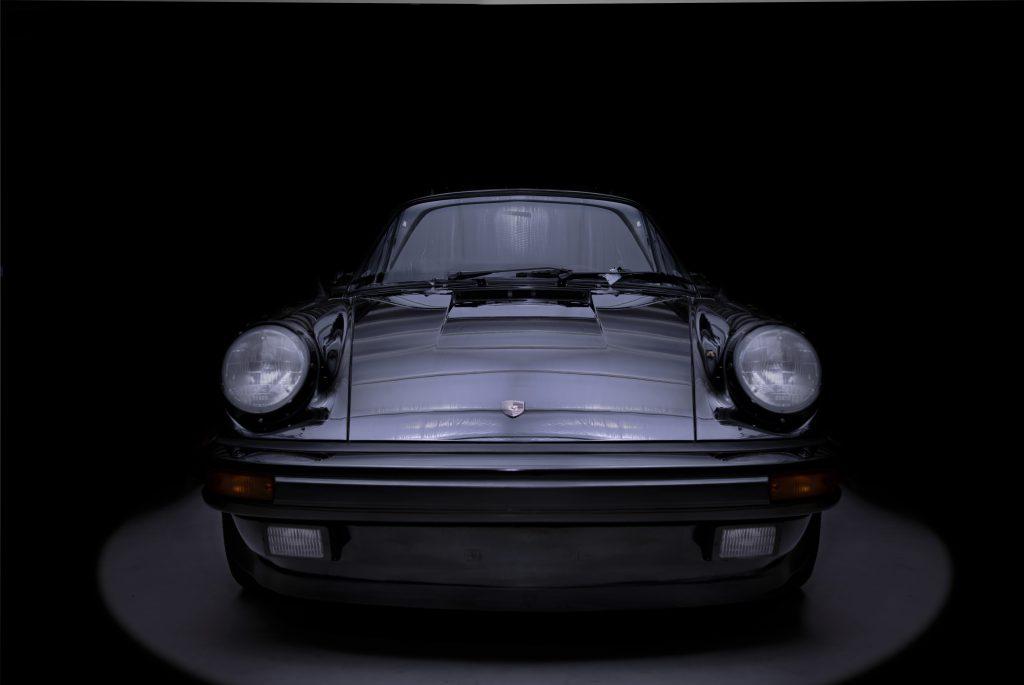 Downlit Porsche
