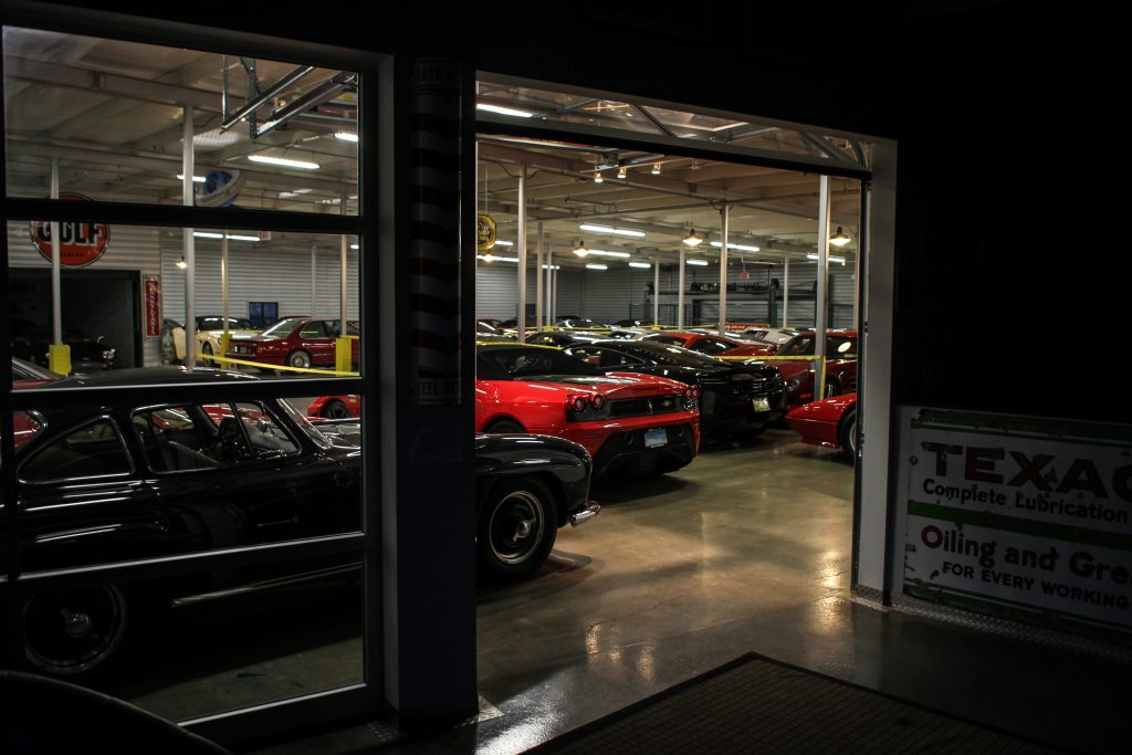 Collectors Car Garage Clubhouse