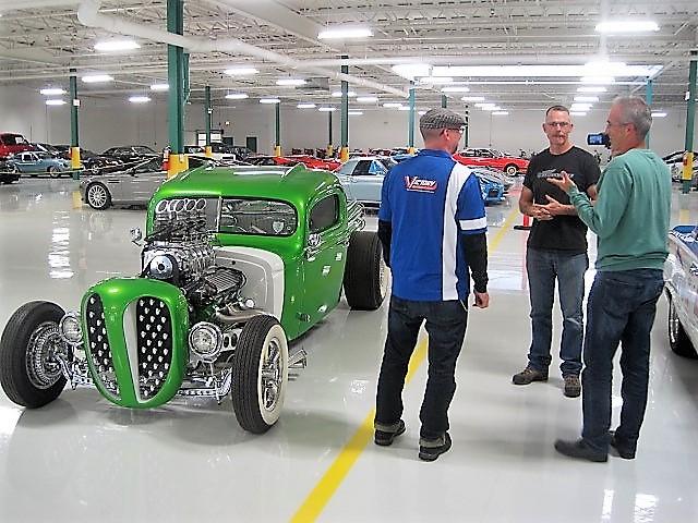 Collectors Car Garage Chicago
